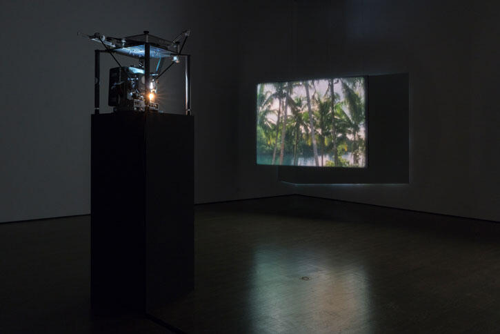 Beatriz Santiago Muñoz, Poetic Disorder, exhibition view presented at the Leonard & Bina Ellen Art Gallery as part of MOMENTA 2021. Photo: Jean-Michael Seminaro