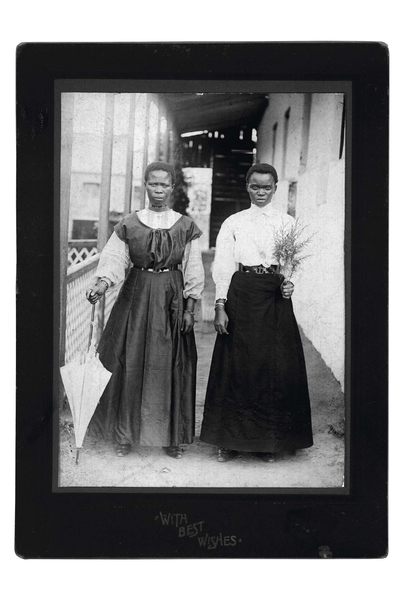 Archival photograph of 2 south african women