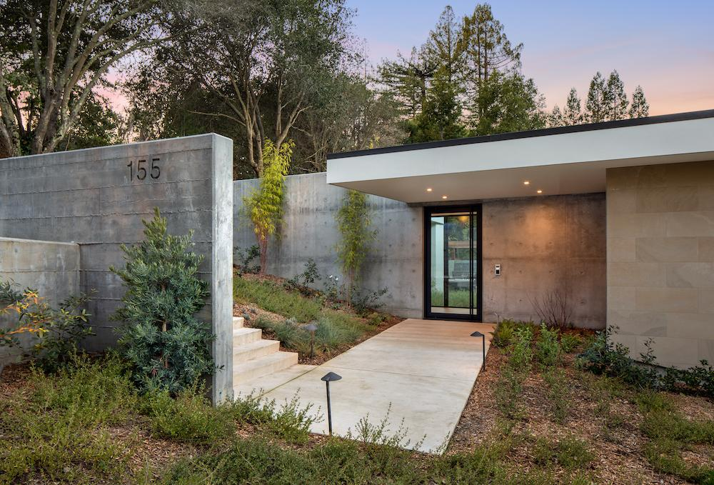 155 Bardet Road, Woodside, California, currently listed with Golden Gate Sotheby's International Realty. Photo: Bernard Andre Courtesy: Golden Gate  Sotheby's International Realty