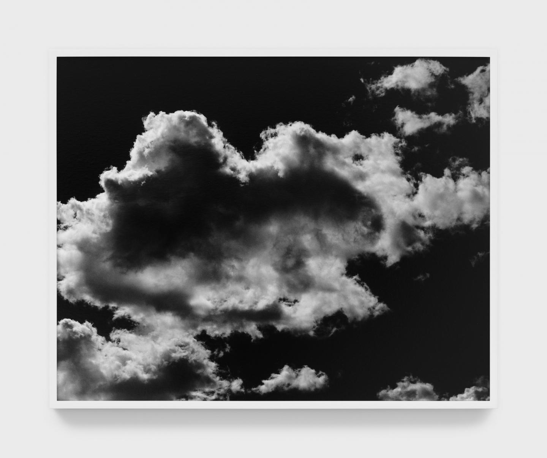 Mark McKnight Clouds II, 2021 Gelatin silver print 24 x 30 inches 61 x 76 cm Courtesy the artist and Park View / Paul Soto, Los Angeles Photo credit: Marten Elder