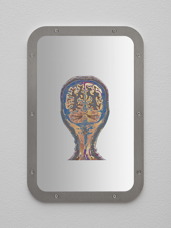 Sung Tieu, Exposure To Havana Syndrome, Brain Anatomy, Coronal Plane, (Sample 5), 2021 © Sung Tieu, Courtesy: the artist, Emalin, London and Sfeir-Semler, Hamburg/Beirut; Photography: Hans-Georg Gaul