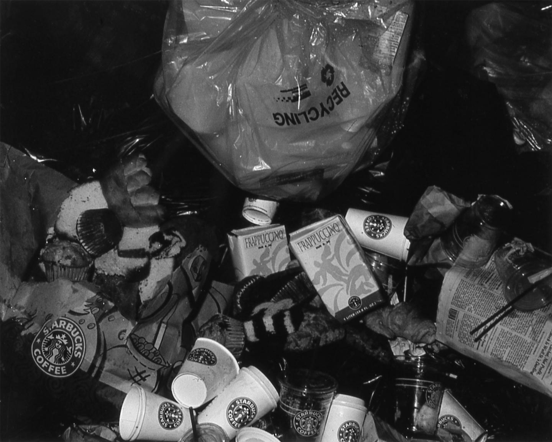AC2K, Untitled (Starbucks Trash), 1995