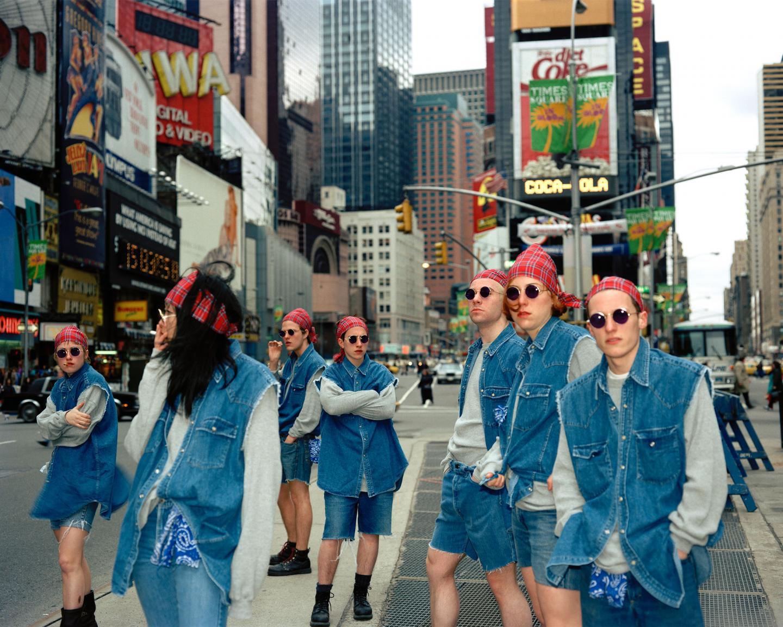 AC2K, Untitled (Times Square/Gap Grunge 1), 1992-1993