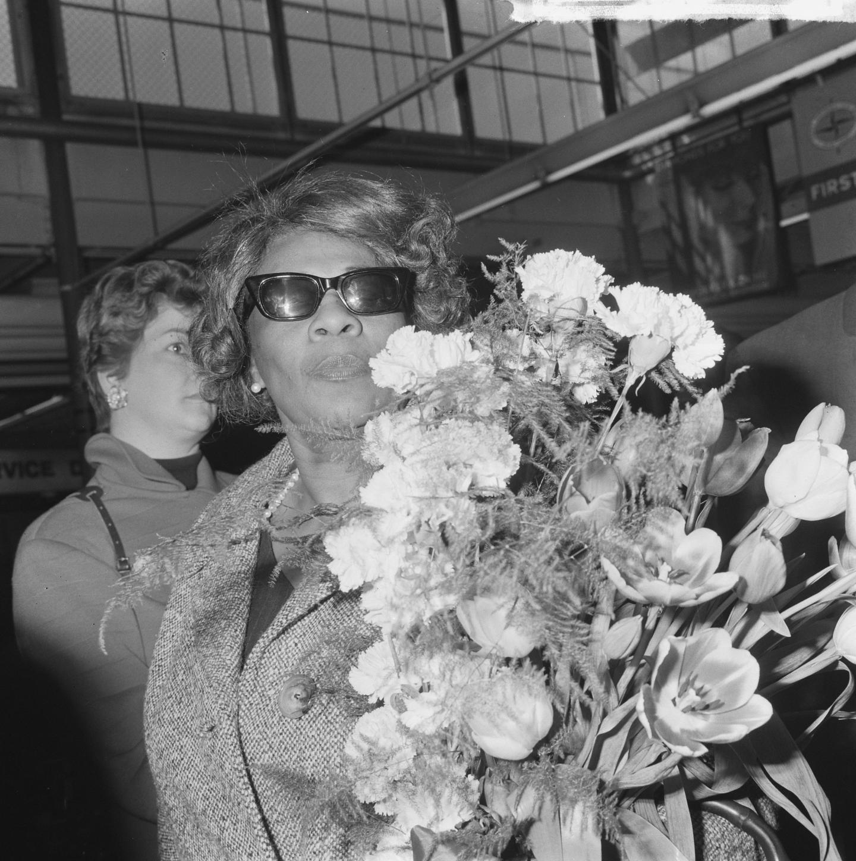 Ella Fitzgerald at Schiphol Airport.