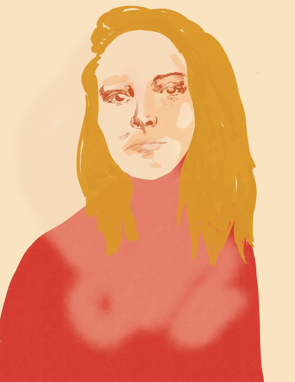 Alejandra Martínez. Illustration by Ruby Sgueglia