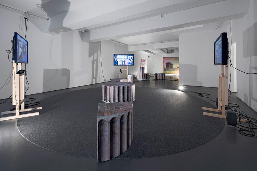 Andreas-Angelidakis,-Softwalks-(2021).-Installation-view.-Photo--Jon-Gorospe--Fotogalleriet