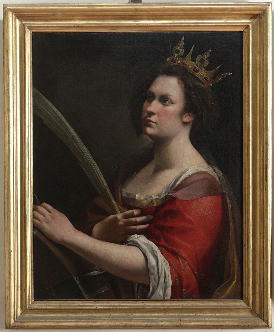 Artemisia Gentileschi Saint Catherine