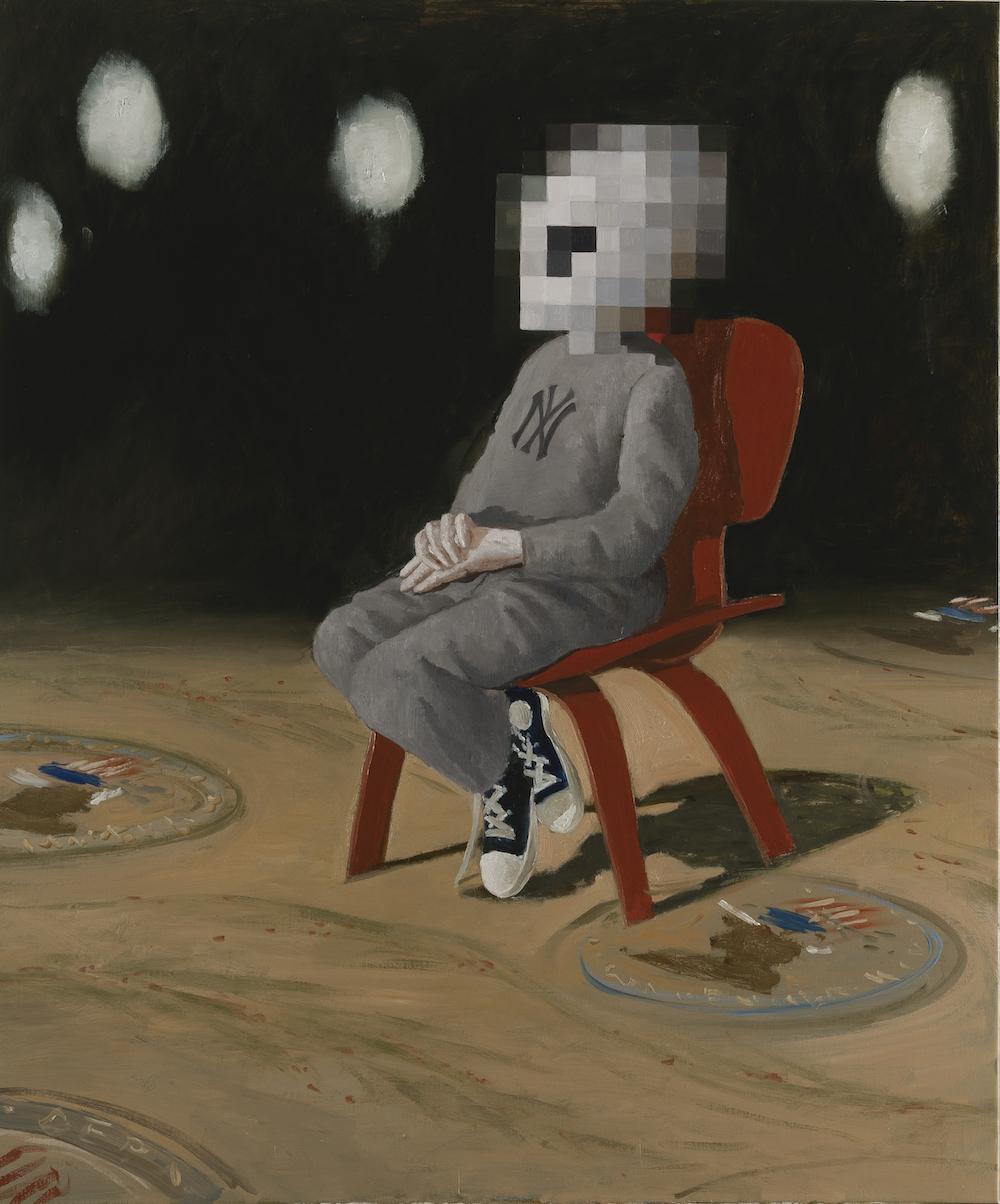 Julio Larraz, Undocumented (2015). Courtesy of Ascaso Gallery