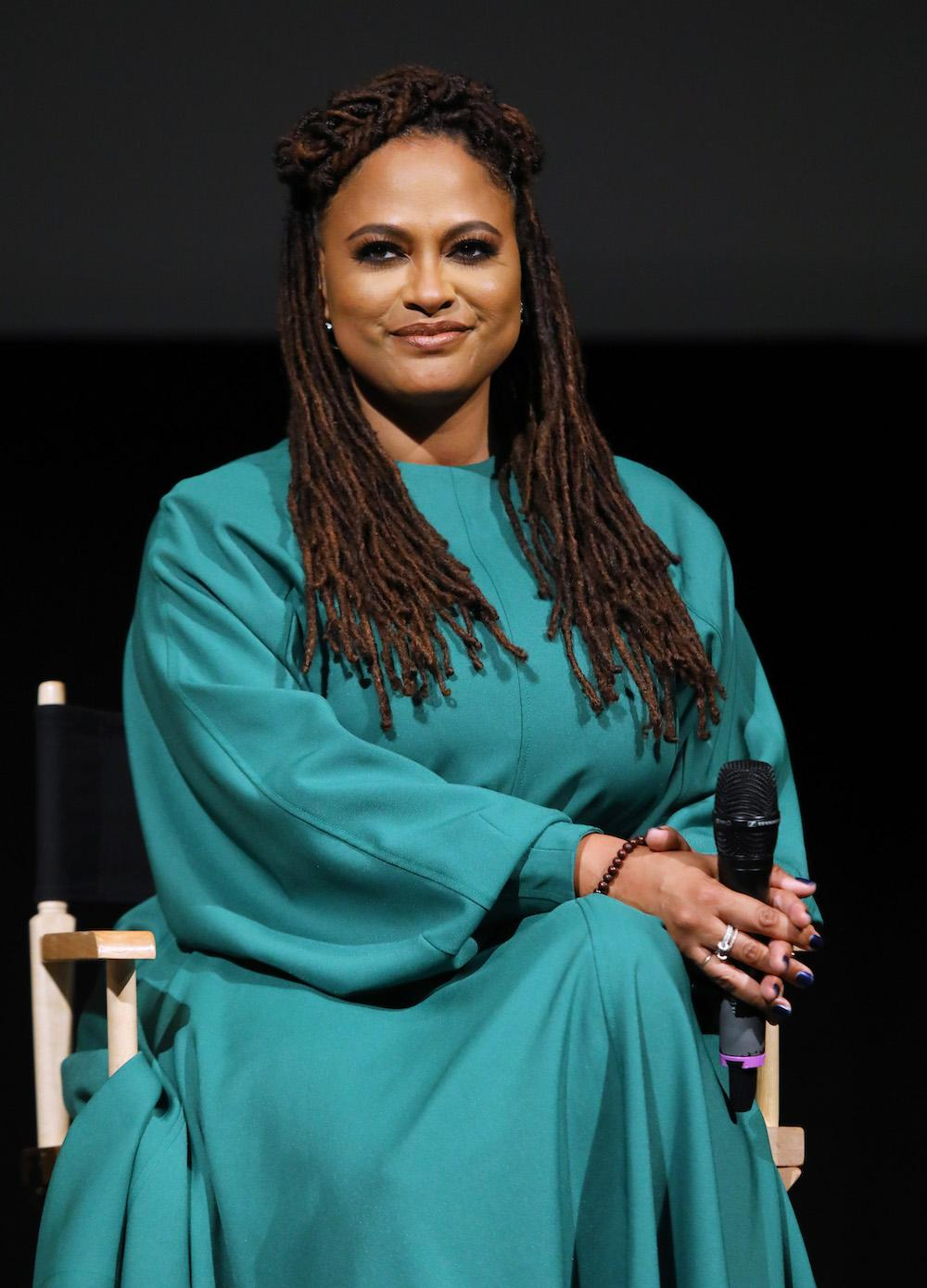 Filmmaker Ava DuVernay speaks onstage during FYC Event For Netflix's 'When They See Us' panel at Paramount Theater on the Paramount Studios lot on August 11, 2019 in Hollywood, California. (Photo by JC Olivera/Getty Images)