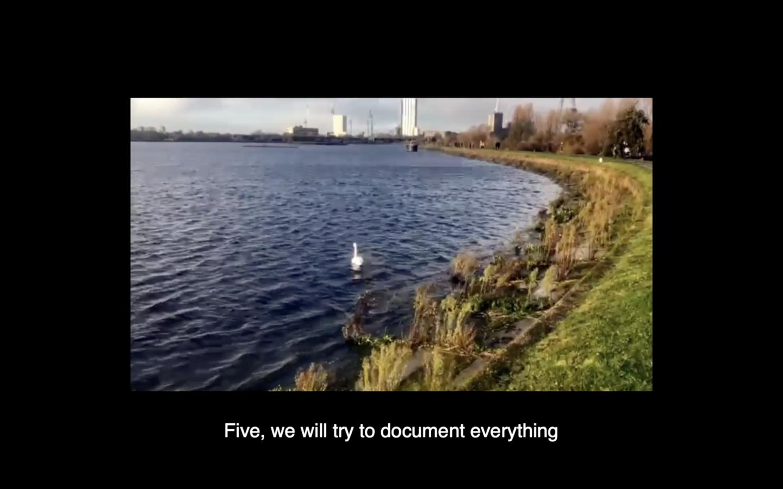 Screengrab of film Manifesto