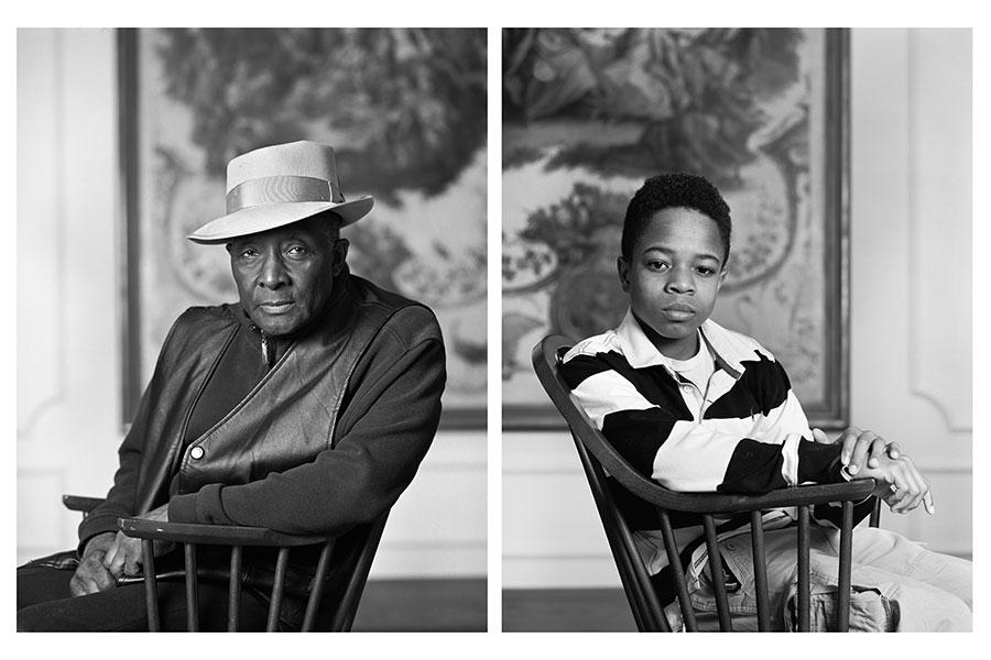Fred Stewart II and Tyler Collins, from the series The Birmingham Project, 2012 Archival pigment prints mounted on Dibond 40 x 64 in (101.6 x 162.6 cm)