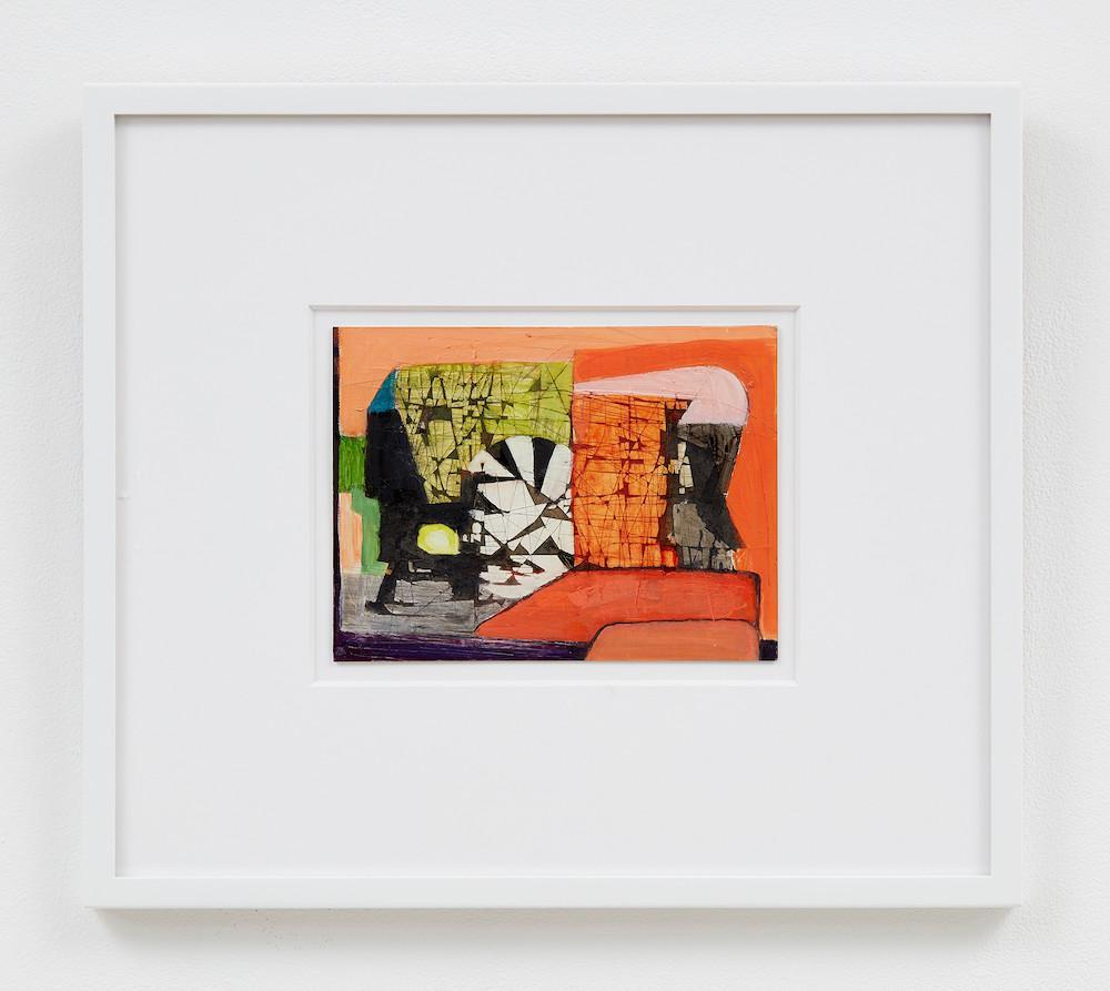 "Brenda Goodman, Did You Hear Me?, 2019 5.98"" x 7.99"" (15.2 cm x 20.3 cm) Oil on paper"