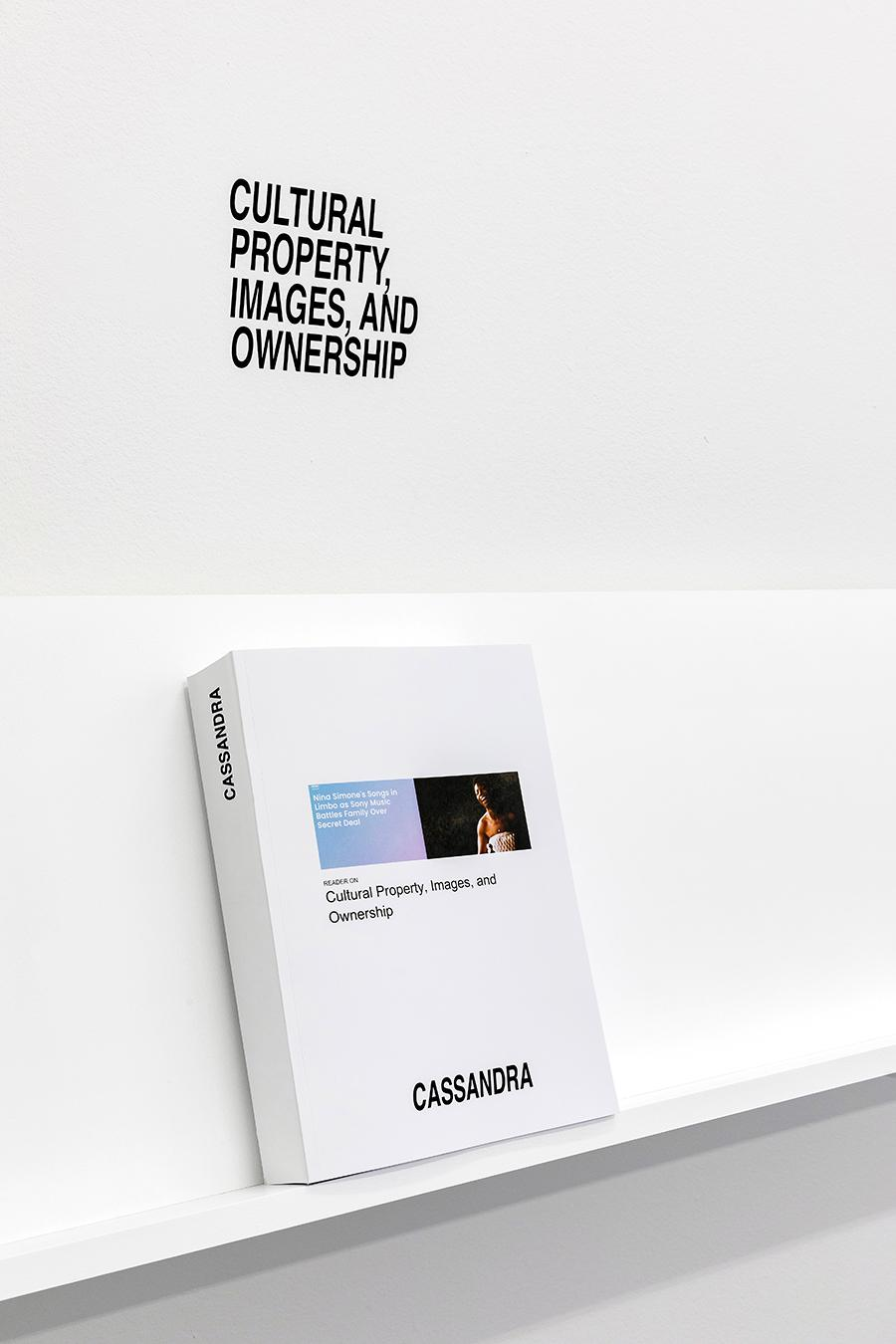 'Cassandra Press – New Publications', 2021, Luma Westbau, Zurich, installation view. Courtesy: Cassandra Press; photograph: Nelly Rodriguez