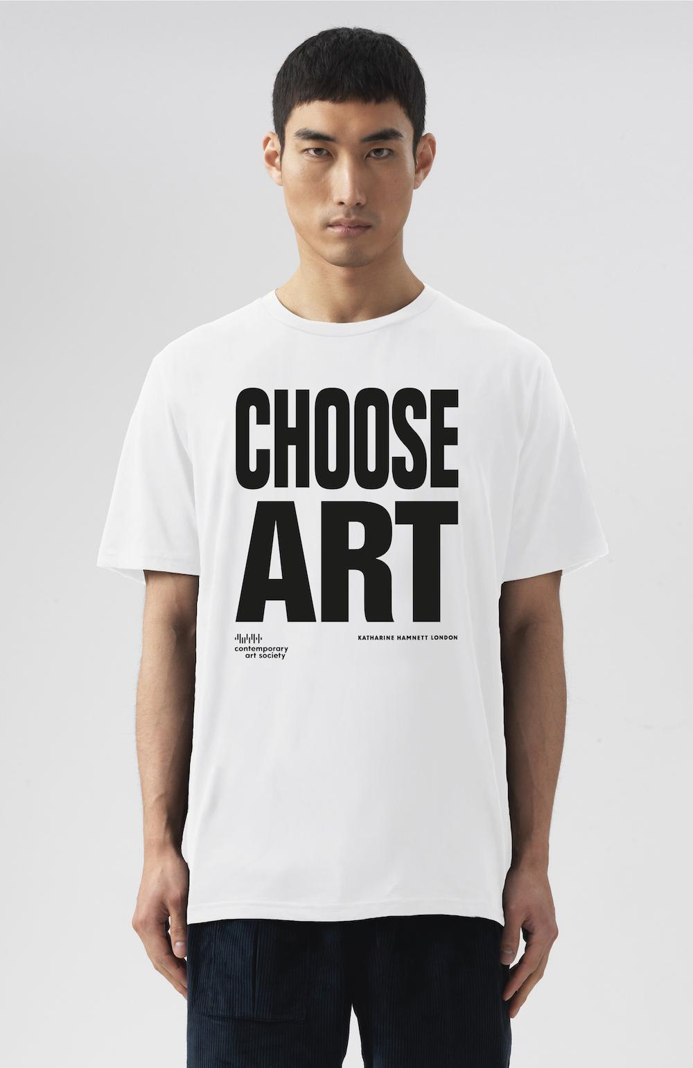 Choose Art T-shirt White