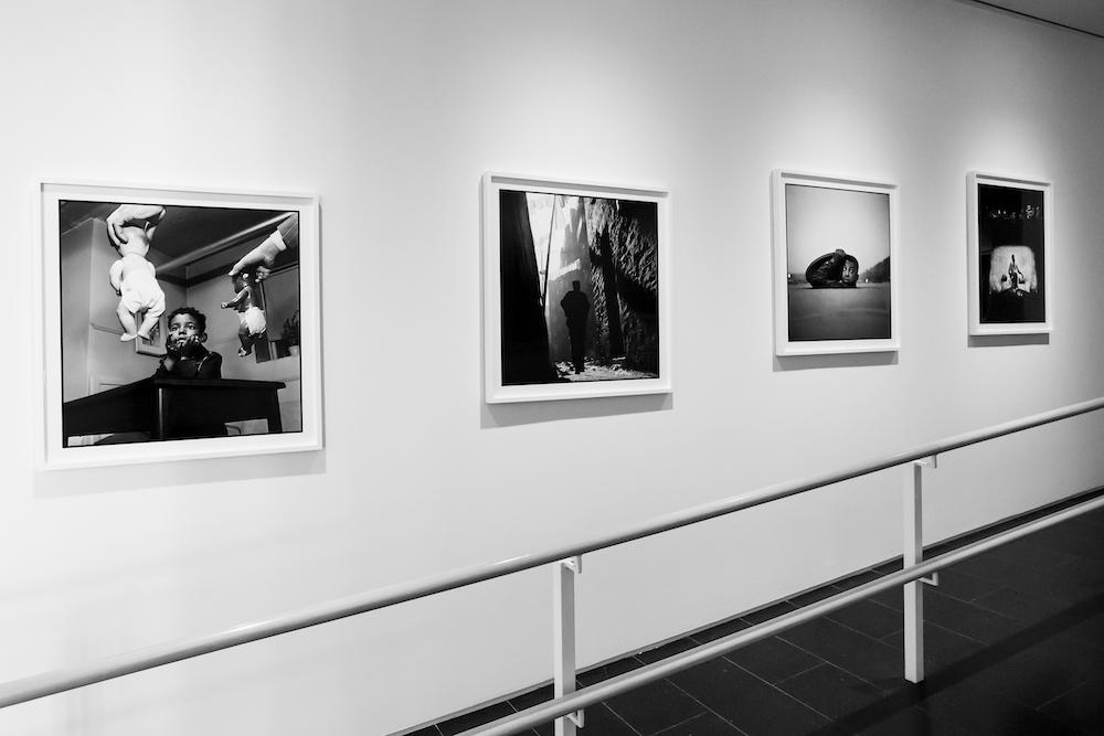 Installation shots from Gordon Parks: Selections from the Dean Collection at the Cooper Gallery. Photo: Melissa Blackall