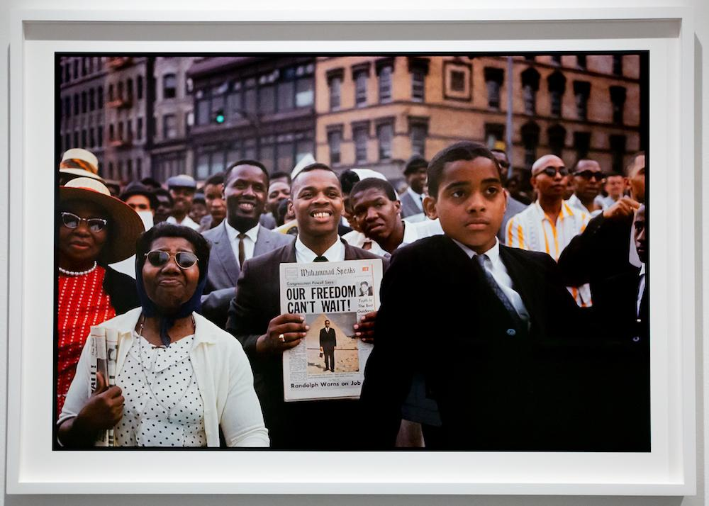 Gordon Parks: Selections from the Dean Collection at the Cooper Gallery. Photo: Melissa Blackall
