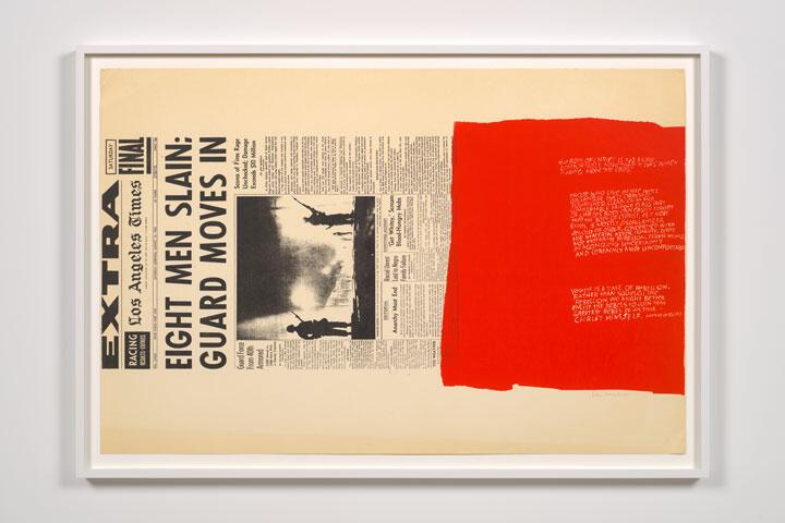 CORITA KENT my people, 1965 Screenprint 23 × 35 inches (58.4 × 88.9 cm.