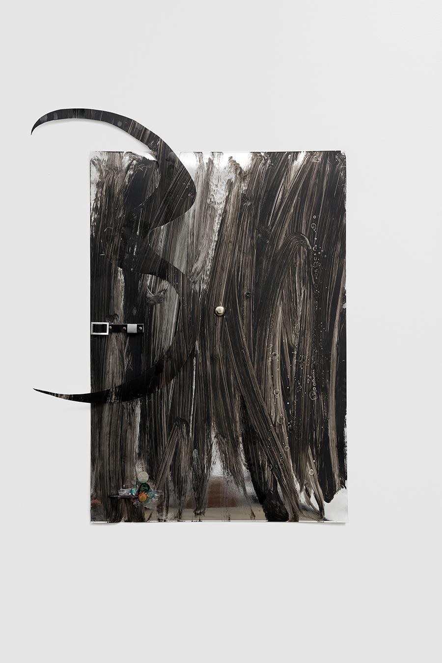 Cudelice Brazelton IV, Barb, 2021, installation view, sans titre (2016)