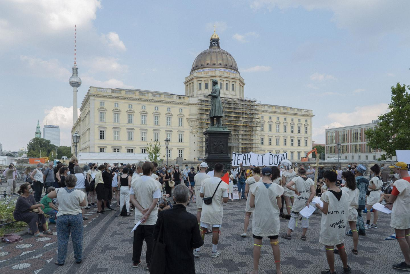 The Coalition of Cultural Workers Against the Humboldt Forum
