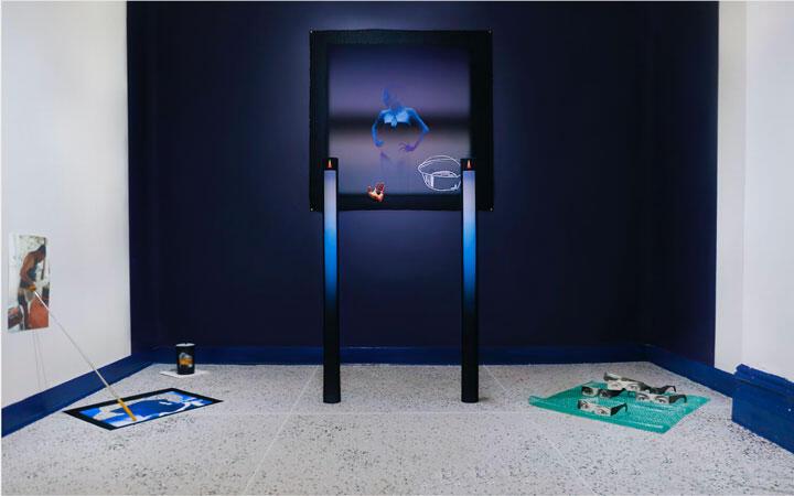 Daniel Arturo Almeida, Saludos a Nadie, 2019–20, installation view. Courtesy: New Museum and NEW INC, New York