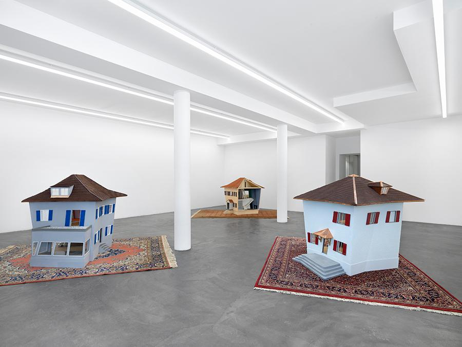 Denis-Savary, 'Ithacha', 2021, exhibition view, Galerie Maria Bernheim