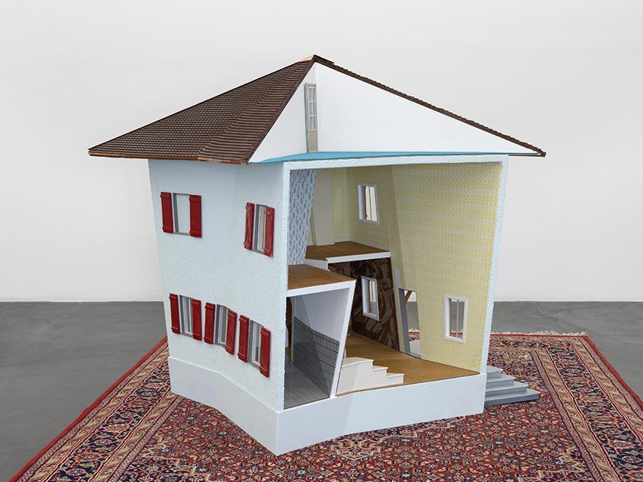Denis Savary, Villa 3, 2020, installation view, Galerie Maria Bernheim