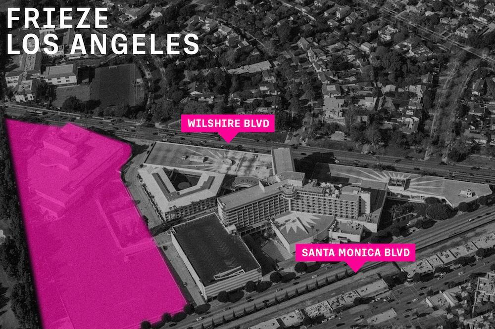 Frieze Los Angeles 2022 location
