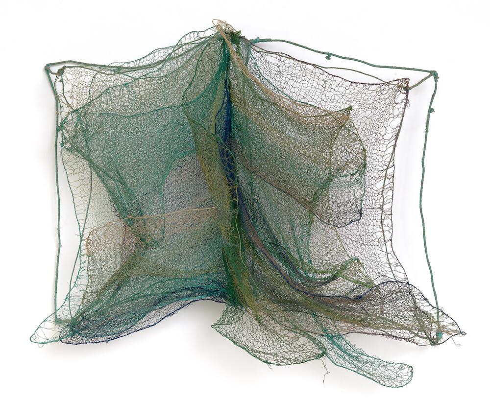 Franca Sonnino (B. 1932)Libro del mare 1983Iron and cotton thread50 x 40 cmCourtesy of Repetto Gallery