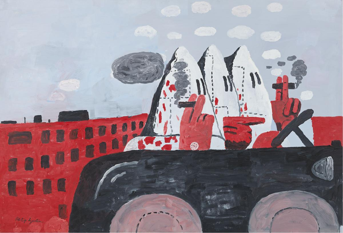 Philip Guston, Riding Around, 1969