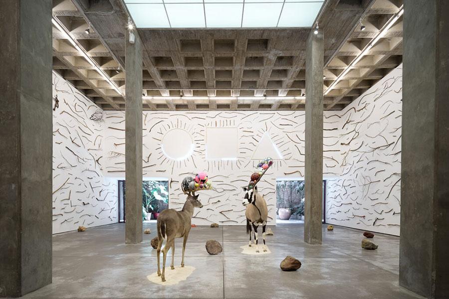 Gabriel Rico, 2021, exhibition view, Galería OMR, Mexico City.