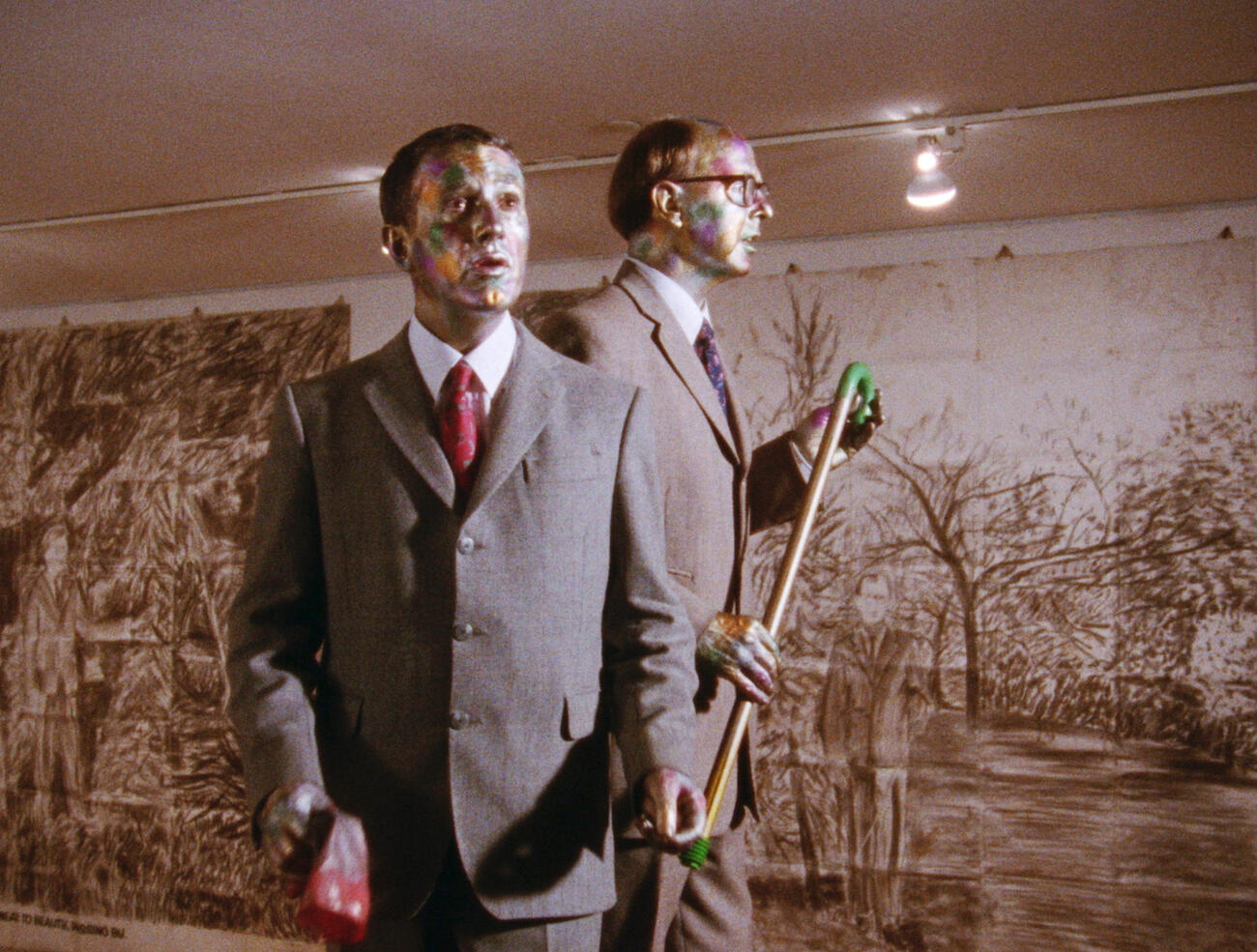 Image of Gilbert & George in suits