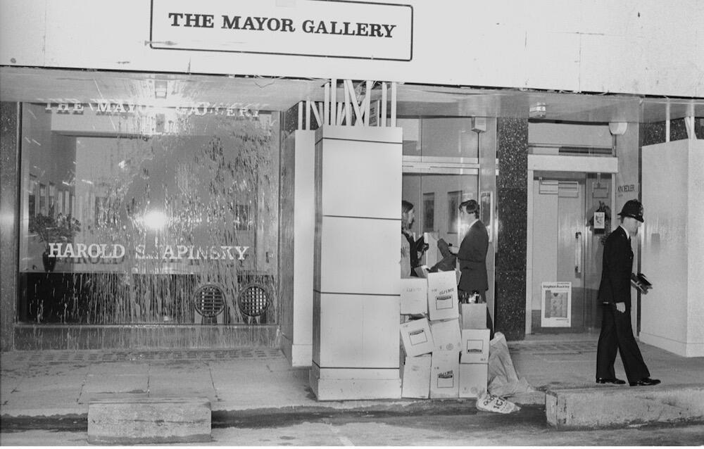 Grey Organisation 1985 courtesy Toby Mott