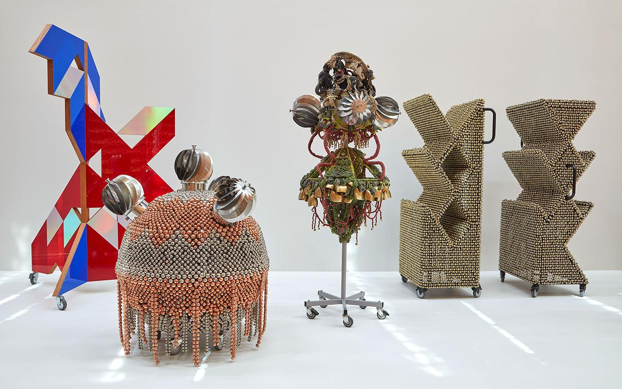 Haegue Yang, Emergence, 2020–2021, exhibition view