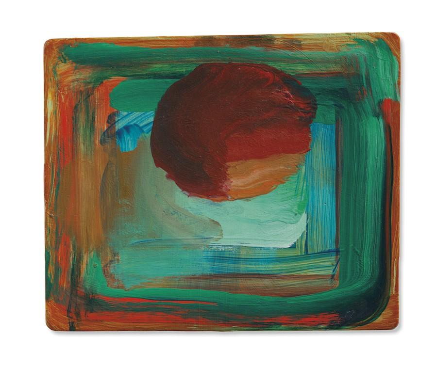 Howard Hodgkin (1932-2017), Venice Sunset, 1989, oil on wood, 26 x 30 cm © Image courtesy of Hazlitt Holland-Hibbert
