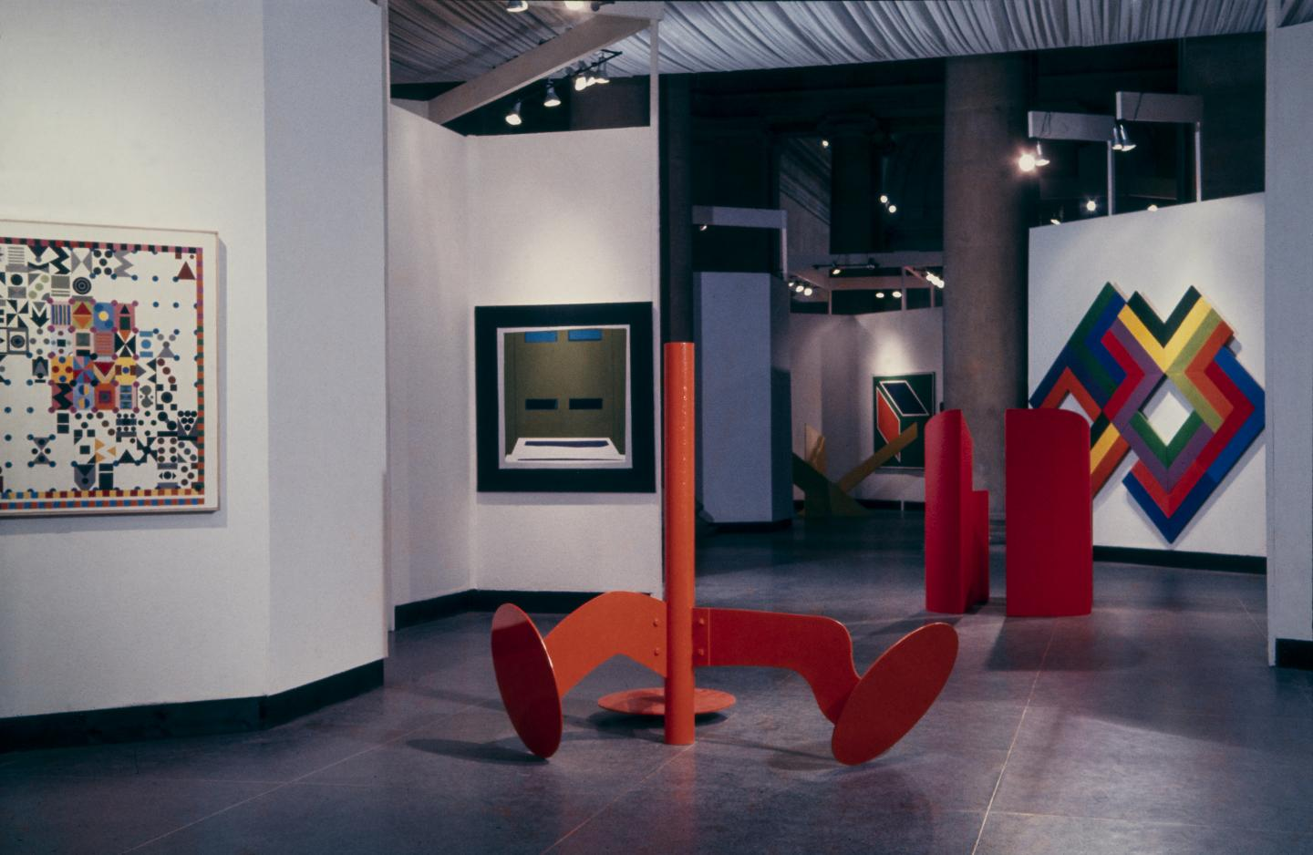 '54–64: Painting and Sculpture of a Decade', 1964, exhibition view, Tate Gallery, London. Courtesy: © Tate, London