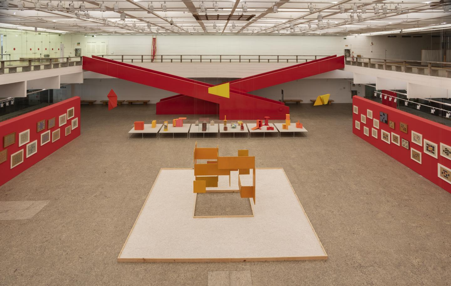 'Hélio Oiticica: Dance in My Experience', 2020, exhibition view. Courtesy: the artist and Museu de Arte de São Paulo