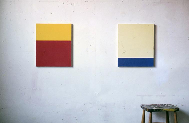 Peter Joseph Yellow over Red and Yellow over Blue