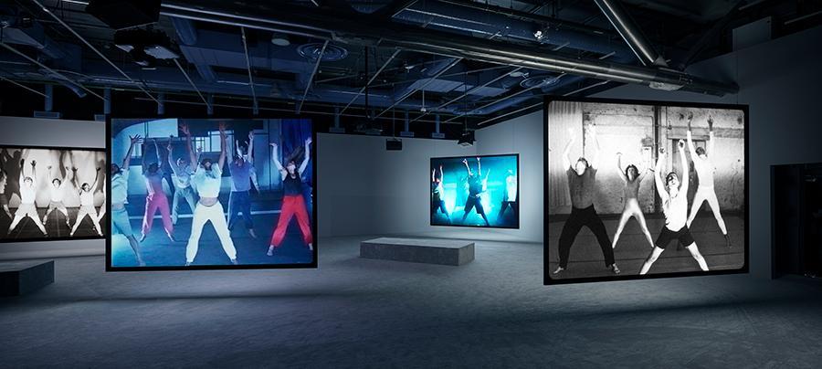 Jeremy Shaw, Phase Shifting Index, Centre Pompidou, Paris