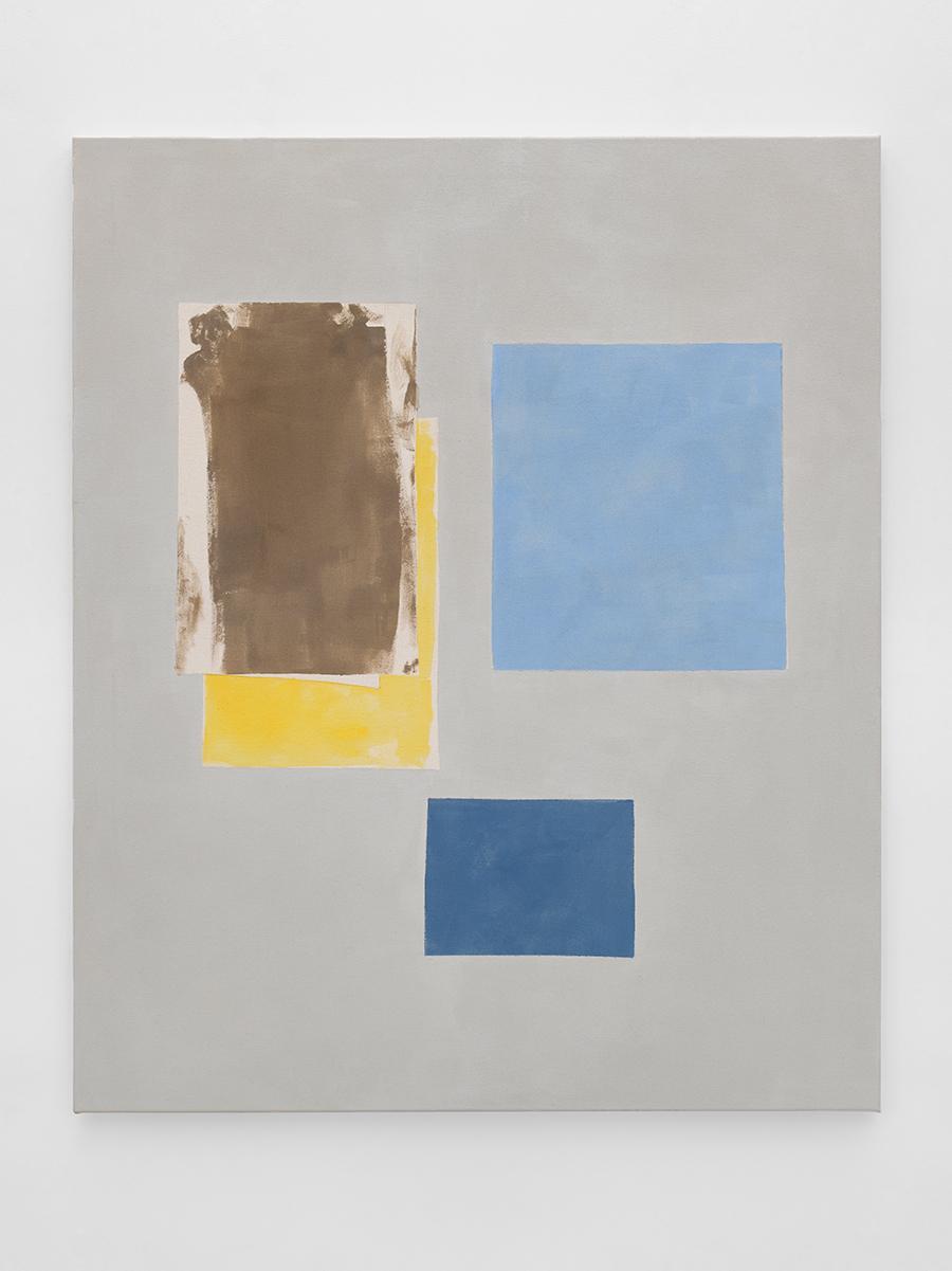 Peter Joseph Brown Yellow Two Blues