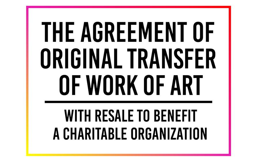 Graphic for KADIST's new Artist Contract