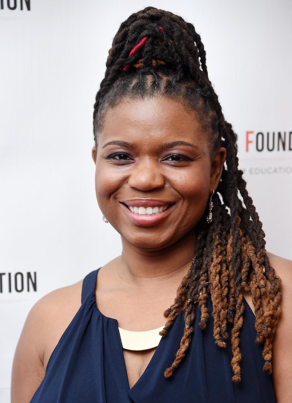 Playwright Katori Hall attends Arthur Miller - One Night 100 Years Benefit at Lyceum Theatre on January 25, 2016 in New York City. (Photo by Dimitrios Kambouris/Getty Images)