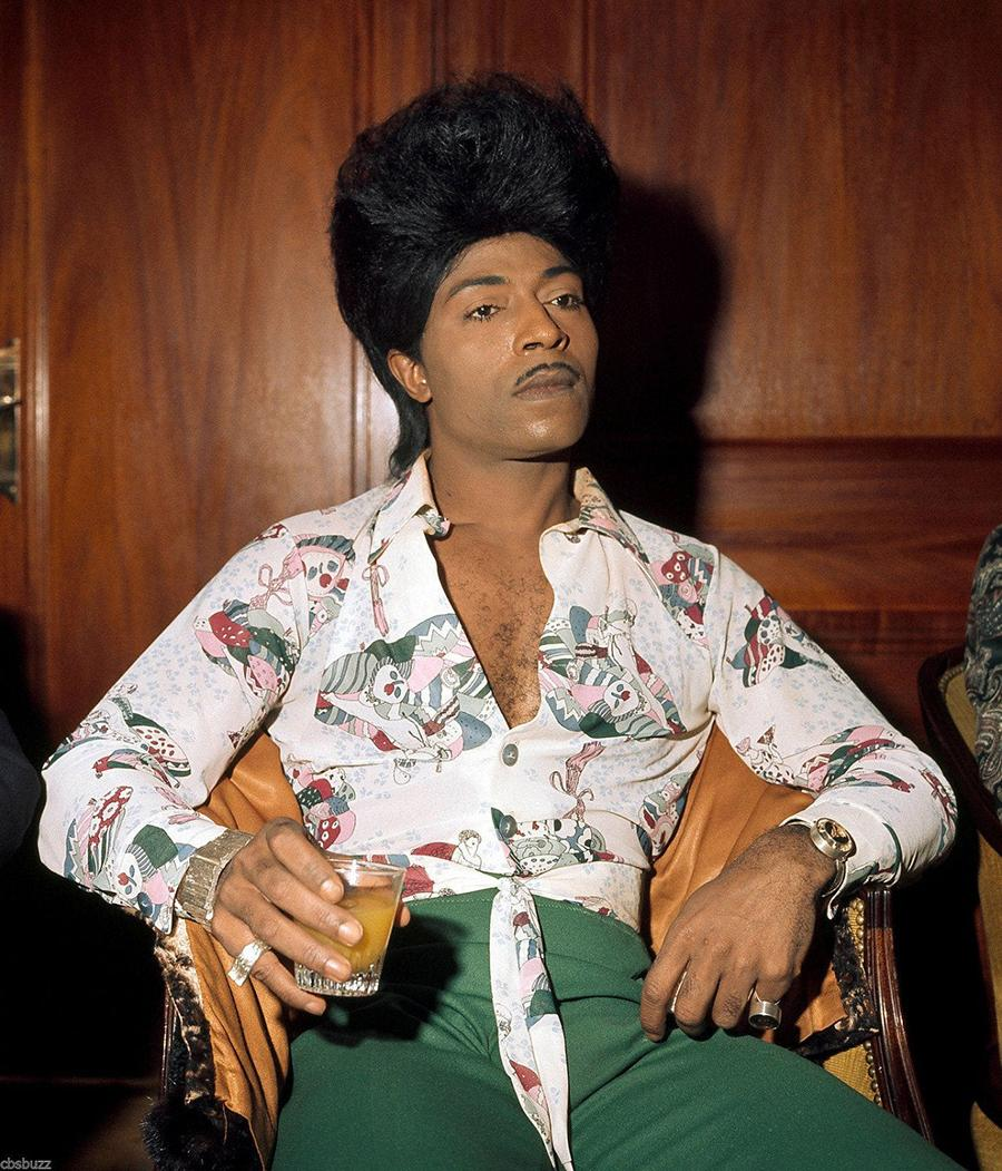 Little Richard in 1975 by Jorgen Angel