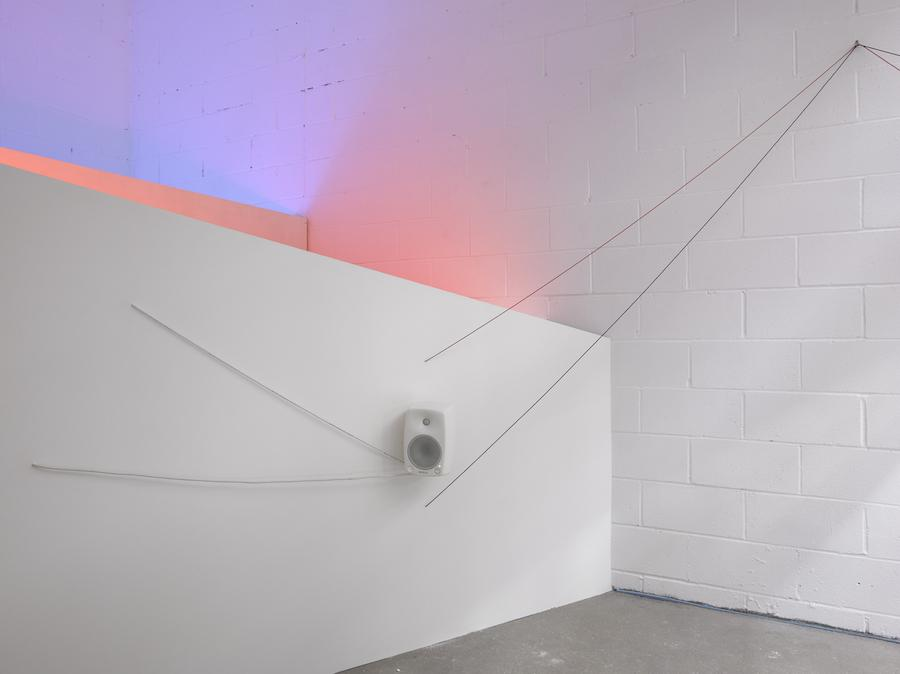 Haroon Mirza, courtesy of Lisson Gallery