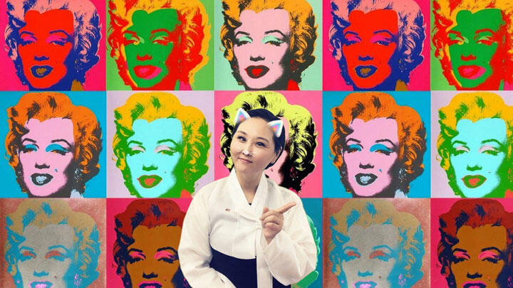 Mina Cheon,Lesson 5 Feminism, Are We Equal?, 2017, art History Lesson videos sent to North Korea. Courtesy: the artistand Ethan Cohen Gallery, New York