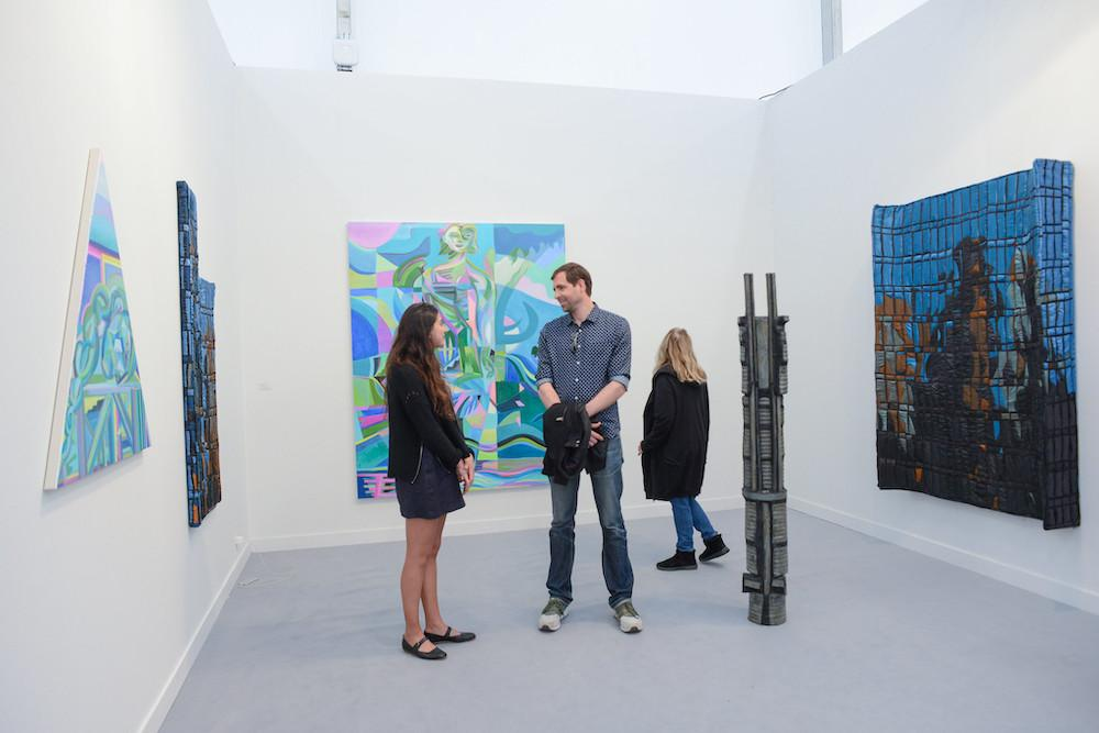 Night Gallery at Frieze Los Angeles 2020
