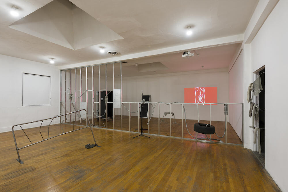 Nikita Gale, Installation View, 2018  Courtesy of the artist and Commonwealth and Council, Los Angeles