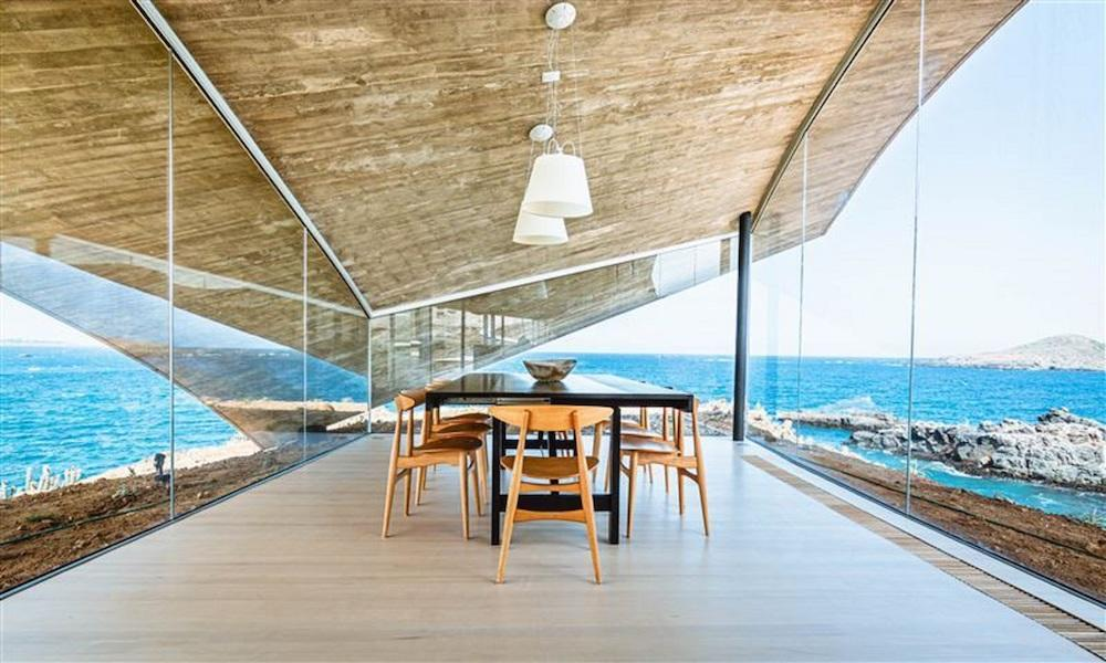Ochoalcubo house, Los Vilos, Chile, designed by RyūeNishizawa. Currently Listed with Chile Sotheby's International Realty. Photo: Christian Araya