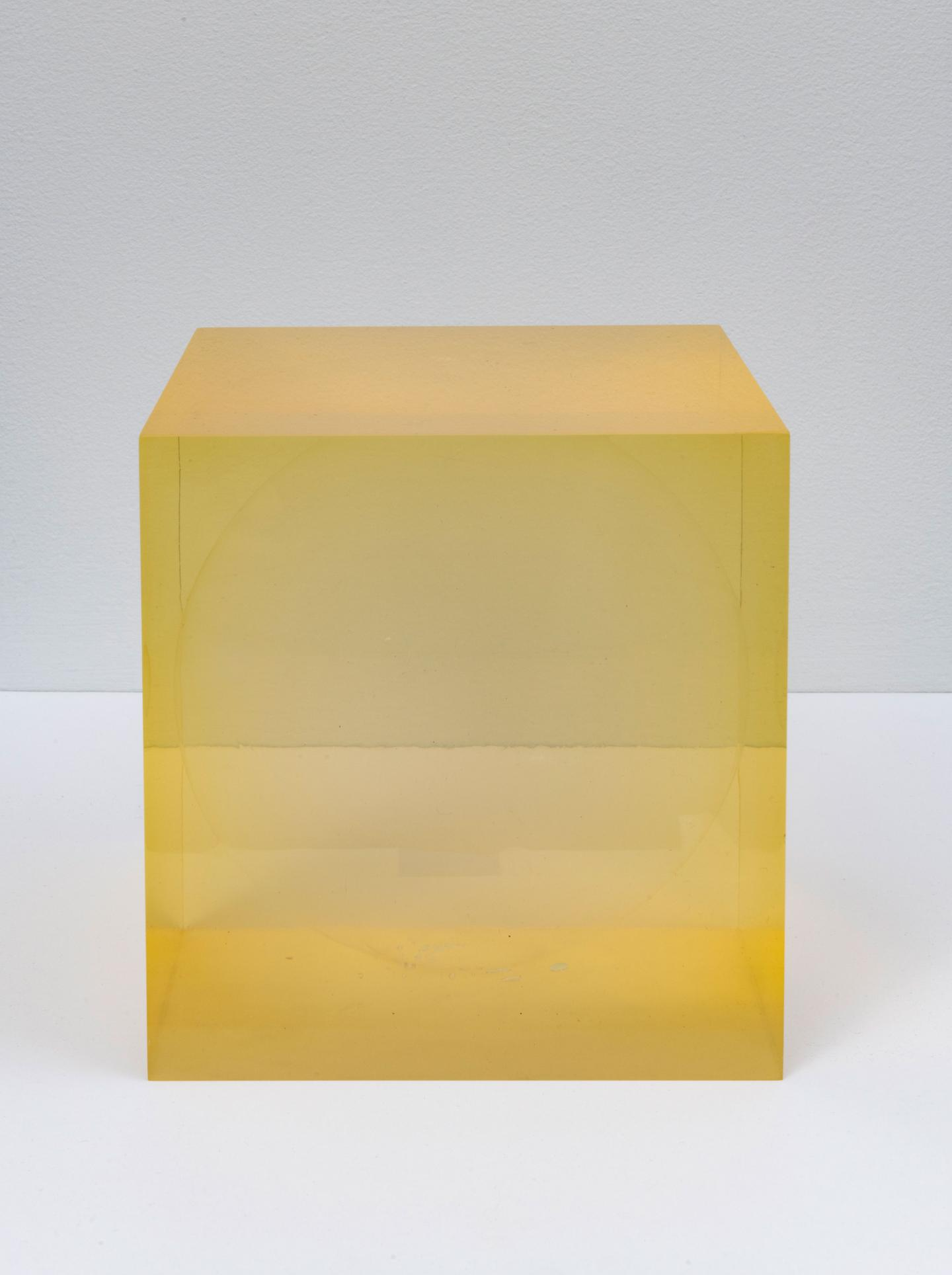 Peter Alexander, Untitled (Sphere within Cube), 1965