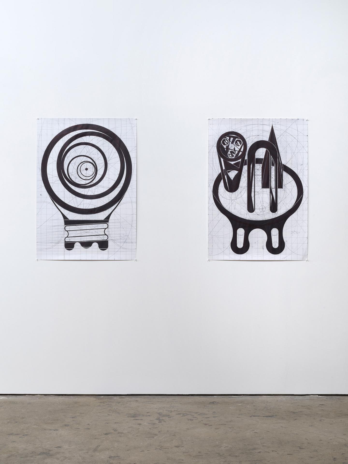 Jean Katambayi Mukendi, install view