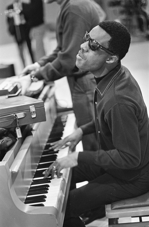 Stevie Wonder, 1967. Courtesy: Wikimedia Commons